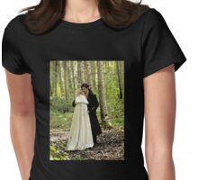 Safe in the Arms of Love Womens Fitted T-Shirt