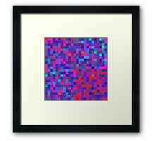 Pixel Texture 1.5  Framed Print