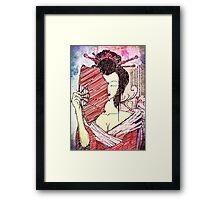 The Geisha - Japanese Art Framed Print
