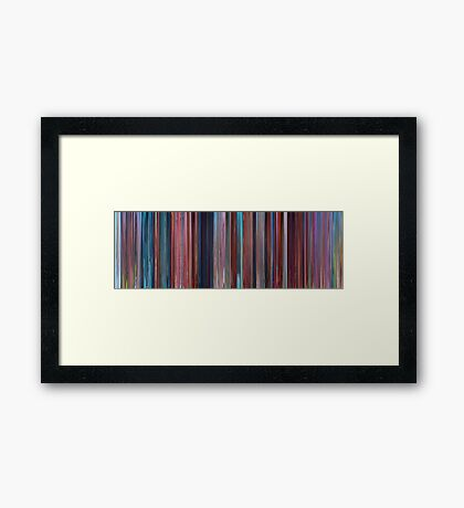 Moviebarcode: Despicable Me 2 (2013)  Framed Print