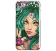 Elf in flowers iPhone Case/Skin