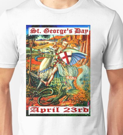 ST. GEORGE'S DAY Unisex T-Shirt