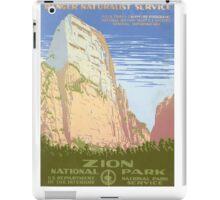 Zion National Park iPad Case/Skin