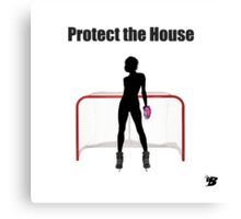 Protect The House Canvas Print
