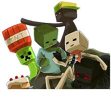 Minecraft Mobs  by Graphy