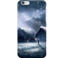 Going Home for Christmas iPhone Case/Skin