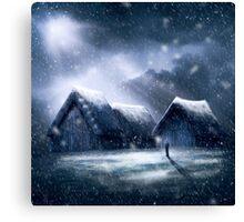 Going Home for Christmas Canvas Print