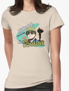 Atomic Lounge Womens Fitted T-Shirt
