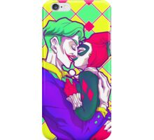 Joker & HarleyQuinn - Retro iPhone Case/Skin