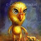Chick Prince (part of a series) by Cindy Schnackel
