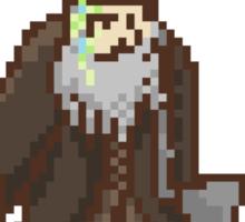 pixelgast the brown Sticker
