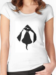 black bell Women's Fitted Scoop T-Shirt