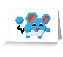 Marill Pokemon Greeting Card