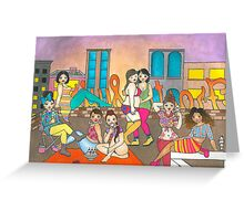 Ice Cream Party Greeting Card