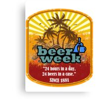 Beer Week Canvas Print