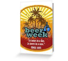 Beer Week Greeting Card