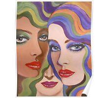 THREE LADIES Poster