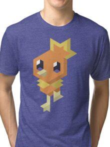 Pokémon Hexels - Torchic Tri-blend T-Shirt