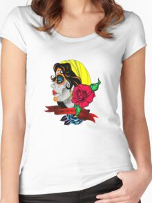 horror Women's Fitted Scoop T-Shirt