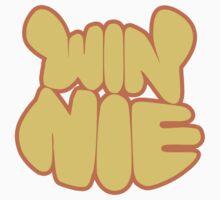 Winnie The Pooh Typography Yellow Orange 3 Kids Clothes