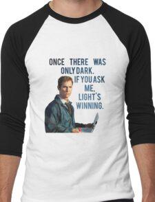 If You Ask Me, Light's Winning - True Detective Men's Baseball ¾ T-Shirt
