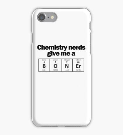 Chemistry Nerd Boner iPhone Case/Skin