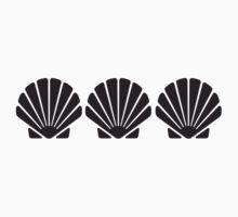 3 Sea Shells Kids Tee