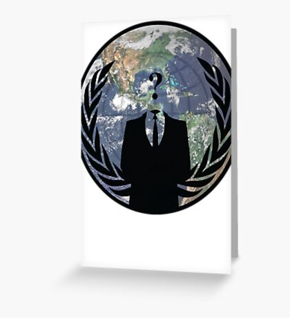 World Wide Anonymous Greeting Card