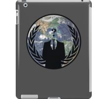 World Wide Anonymous iPad Case/Skin