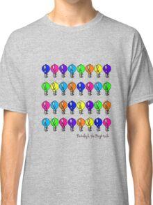 Colored bulbs Classic T-Shirt