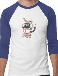 The Easter Kitty Men's Baseball ¾ T-Shirt
