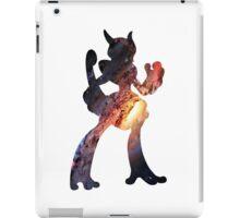 Mega Mewtwo X used Aura Sphere iPad Case/Skin