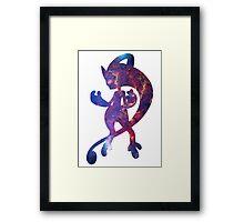 Mega Mewtwo Y used Psychic Framed Print