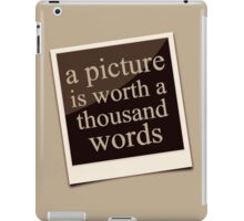 A Thousand Words iPad Case/Skin