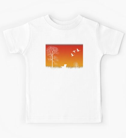 Real Duck Hunt Kids Tee