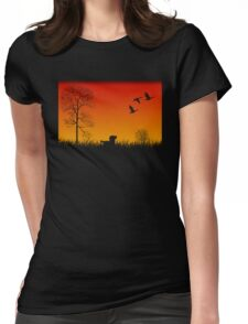 Real Duck Hunt Womens Fitted T-Shirt