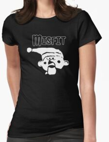 The Real Misfit - Rudolph Womens Fitted T-Shirt