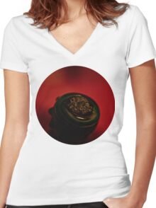 Cereal  Women's Fitted V-Neck T-Shirt