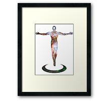 Cosmic Man Framed Print