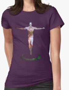 Cosmic Man Womens Fitted T-Shirt