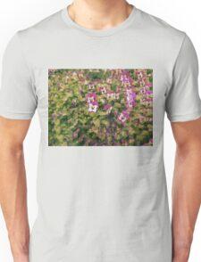 Trippy Flowers Unisex T-Shirt
