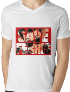 Save Ferris Mens V-Neck T-Shirt