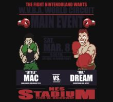 Punch Out!!! Fight Night One Piece - Short Sleeve