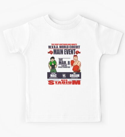 Punch Out!!! Fight Night Kids Tee