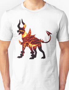 Mega Houndoom used Flamthrower Unisex T-Shirt