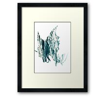 Mega Gyrados used Surf Framed Print