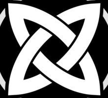 Celtic knot symbol Sticker