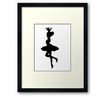 You Can't Hold Me Framed Print
