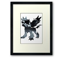 Mega Absol used Feint Attack Framed Print