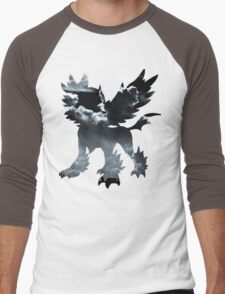 Mega Absol used Feint Attack Men's Baseball ¾ T-Shirt